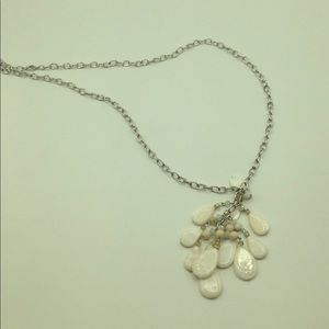 Long Accent Chain Bead Necklace